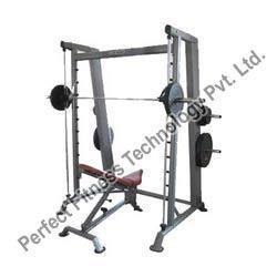 Smith Machine with Adjustable Bench