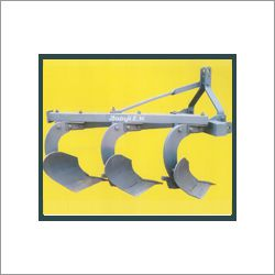 Three Bottom Mounted Mould Board Plough