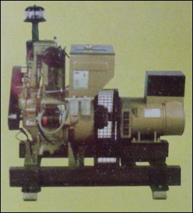 Eicher Type One Cylinder Slow Speed Air Cooled Generator Set