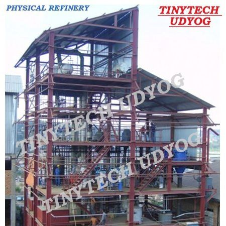 Continuous Physical Oil Refinery Plant